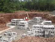 Foundation of new house 8 03