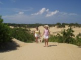 Patti and Katie Jockey's Ridge Nags Head NC