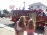 Ocracoke Island NC forth of July parade