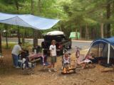 Minehan camp site Cape Cod 2008