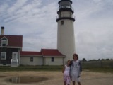 Katie and Michael At Highland light Turo Cape Cod 2008