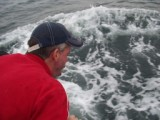 Stephen chumming for great whites 2008